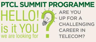 PTCL Summit Program 2018 NTS Last Date Job Application