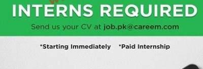 Careem Paid Internship Program