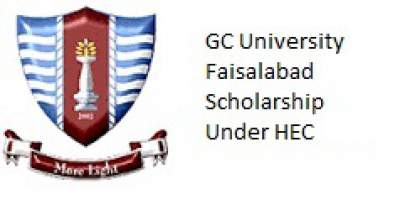GC University Faisalabad HEC Need Based Scholarship 2017 Application Form