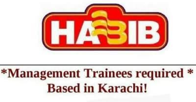 Habib Trainee Jobs