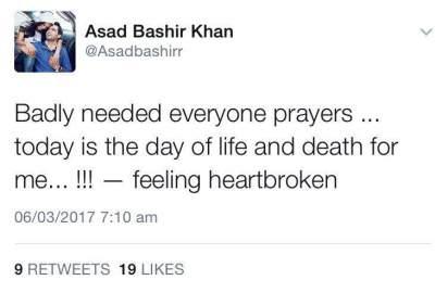 Asad Khan update