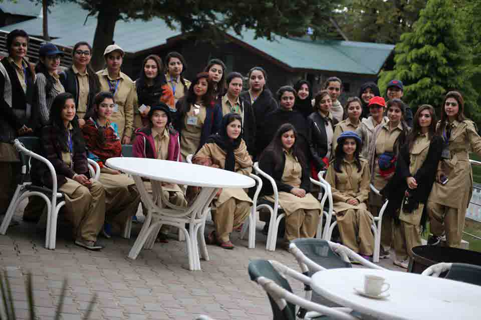 PAF Finishing School for women Pictures at Kalabagh Air Base