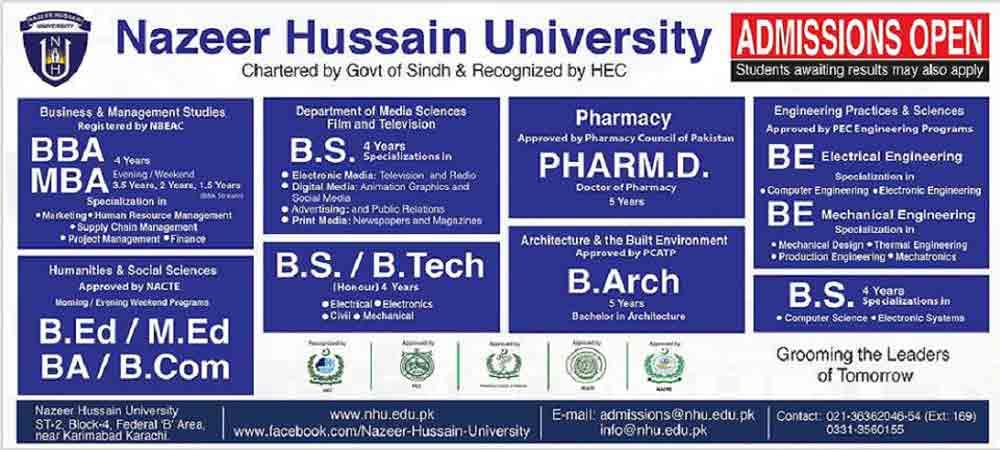 Nazeer-University-Admission