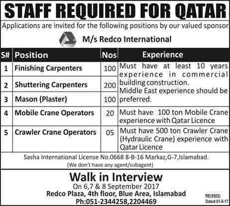 Redco-International-Jobs-in-Qatar-for-Pakistani