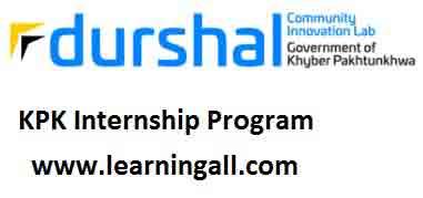 Durshal Internship Fellowship 2018 Program Online Application Form