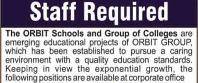 The-ORBIT-Schools-Jobs-2018