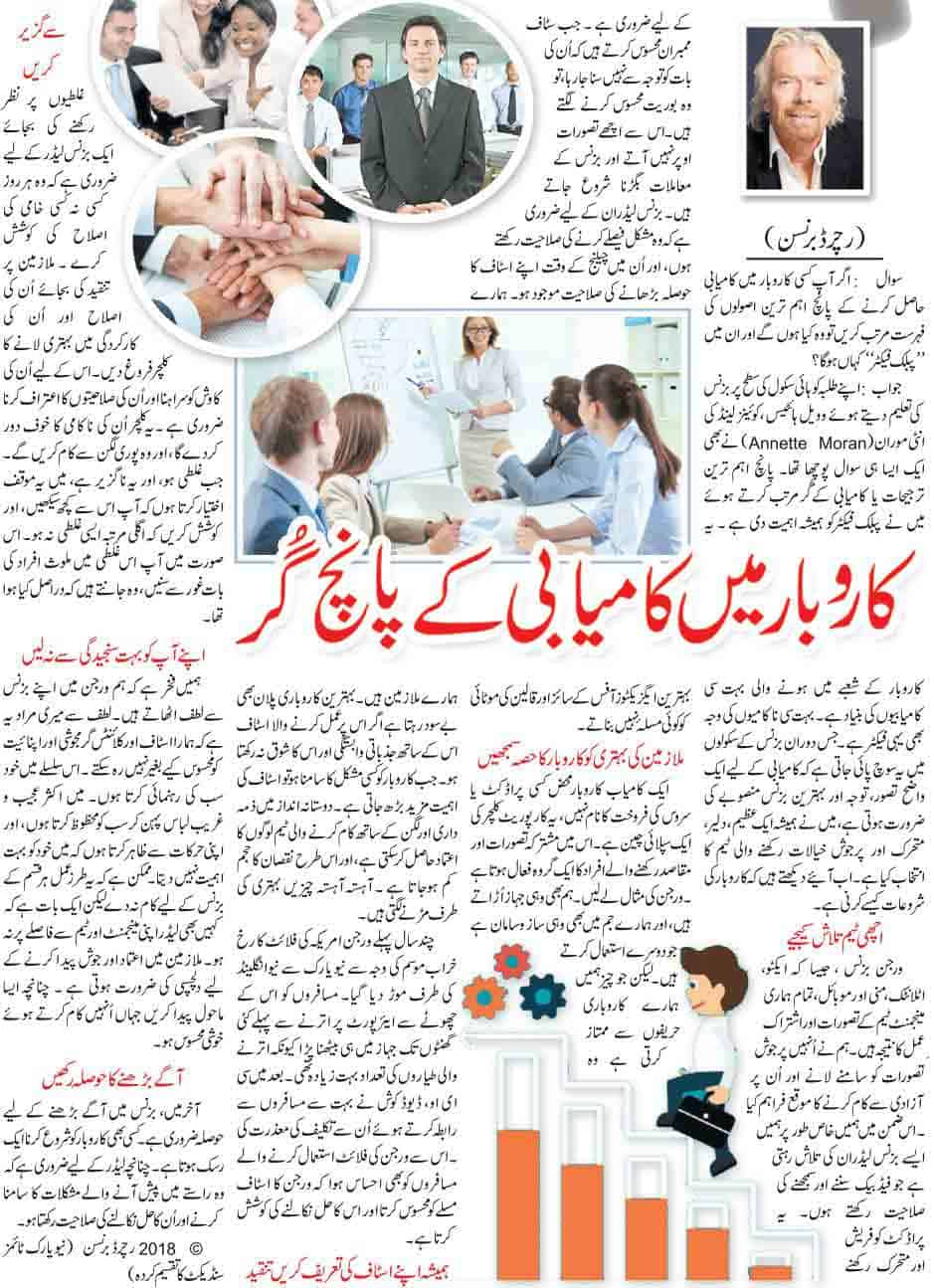 Five Methods for Successful Business Tips in Urdu Guidance