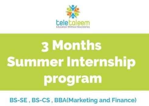Teletaleem Summer Internship