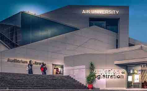 Air University Admission Schedule