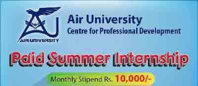 Air-University-Summer-Internship