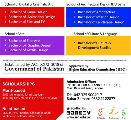 Institute for Art and Culture Lahore