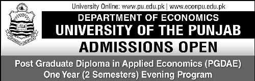 post-Graduate-Diploma-Admission-in-Lahore