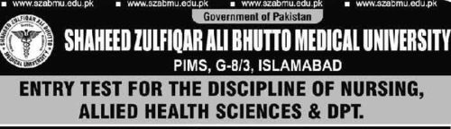 shaheed-zulfiqar-ali-bhutto-medical-university-entry-test