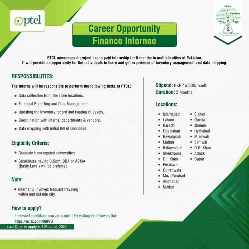 PTCL-Internship