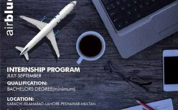 AirBlue-Summer-Internship-Program
