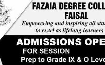 Fazaia-Degree-College-Faisal-Karachi-Admission-Test