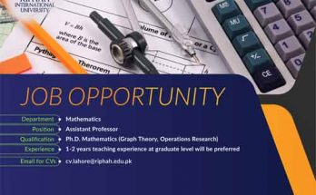 Riphah-University-Jobs-Professor