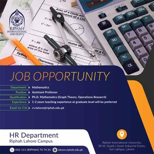 Riphah-University-Jobs-Professor
