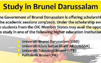 Study-in-Brunei-Darussalam-Scholarship-for-Pakistan
