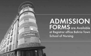 Bahria-Town-Nursing-School admission