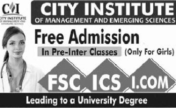 City-Institute-Lahore-Admissions