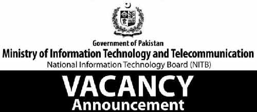 Ministry of IT and Telecom Pakistan Jobs 2019 Apply Online