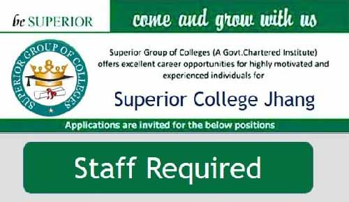 Superior-College-Jhang-Jobs
