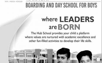 The-Hub-School-Karachi-Admission
