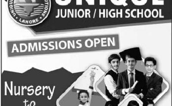 Unique-School-Lahore-Admissions