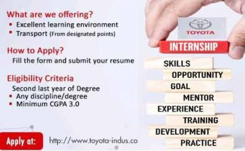 Indus-Motor-Summer-Internship-Program
