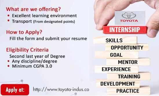 Indus-Motor-Summer-Internship-Program