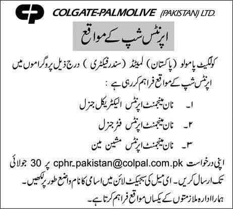 Colgate-Palmolive-Apprenticeship