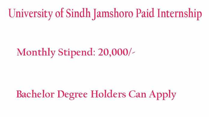 Sindh-University-Jamshoro-Internship-Program