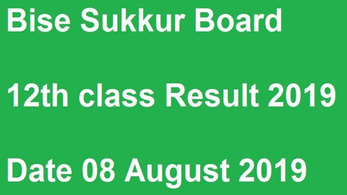 Bise-Sukkur-Board-12th-Class-Result-2019