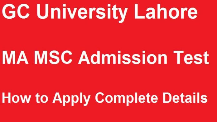 GC-University-Lahore-MA-MSC-Admissions-2019