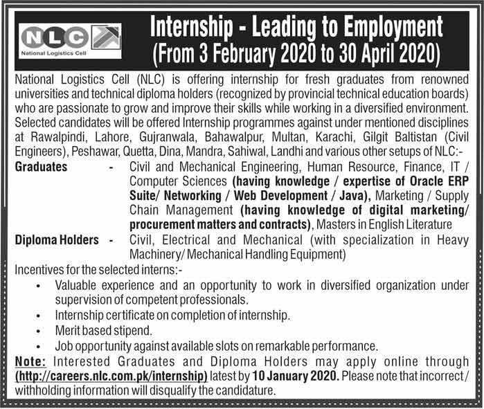 NLC-Internship-2020-Pakistan