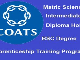 Coats-Pakistan-Apprenticeship-Training-Program-2020