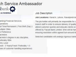 Faysal-Bank-Trainee-Branch-Service-Ambassador-2020-Jobs