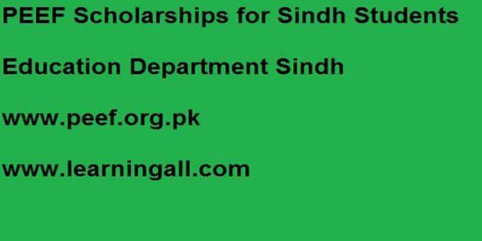 PEEF-Sindh-Scholarships-2020