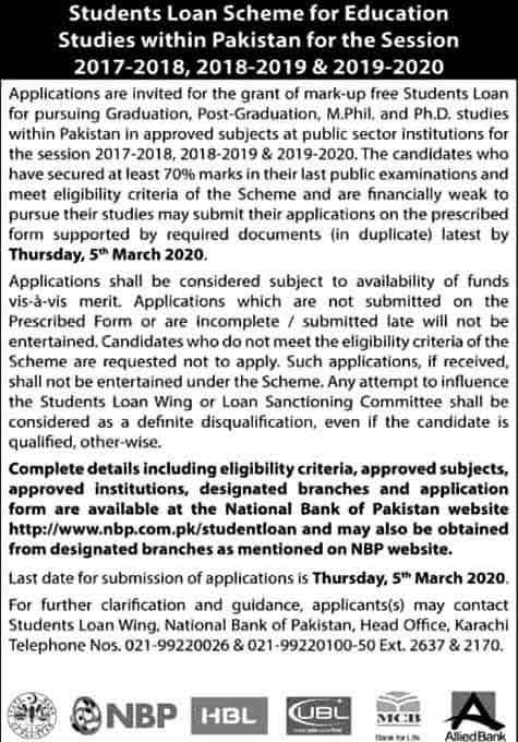 student-loan-scheme-2020-NBP
