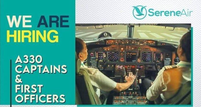 Serene Air Jobs 2020