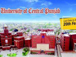 University-of-Central-Punjab-Admission-2020