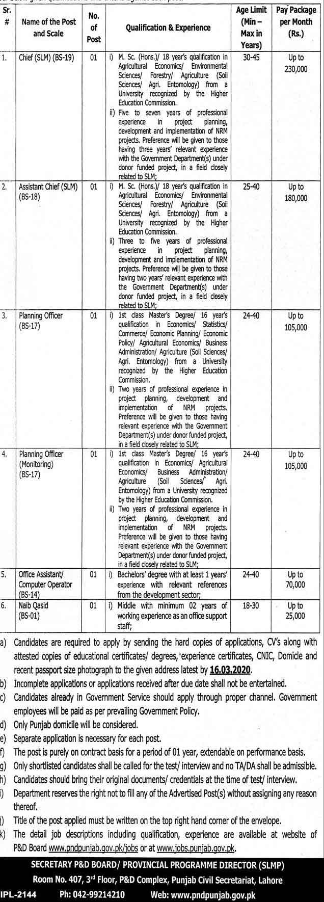 punjab-government-Jobs-2020-Salary-Package