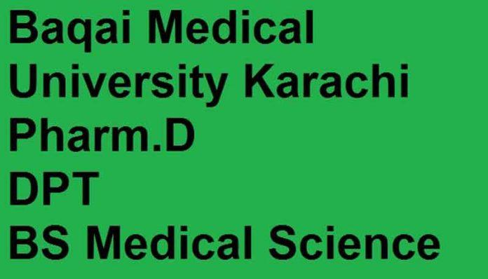 Baqai-Medical-University-Admission-2020