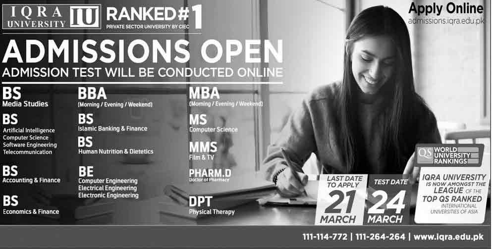 Iqra-University-Karachi-Admissions-2020