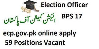 Election-Officer-Jobs-2020-ecp.gov.pk