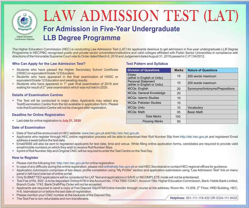 HEC-Law-Admission-Test-LLB-2020