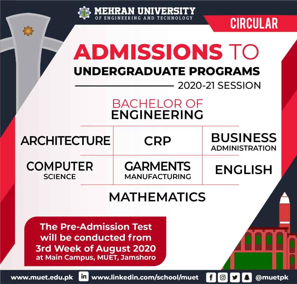 MUET-Mehran-University-Admission-2020