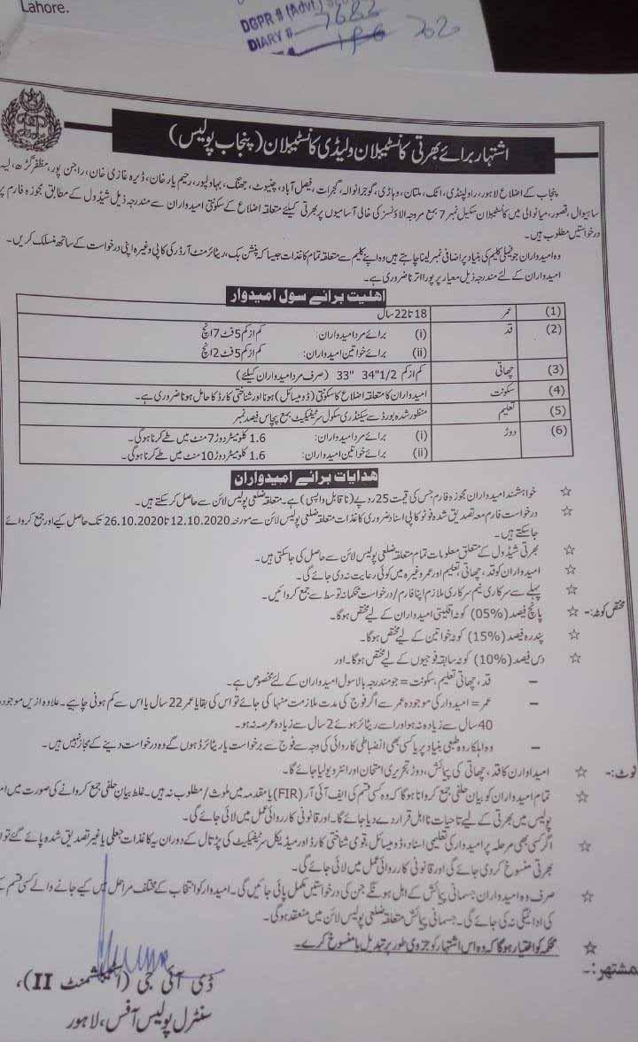 Punjab-Police-Jobs-2020-Constable