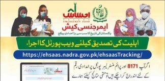 Ehsaas-Check-online-Application-Nadra-Status